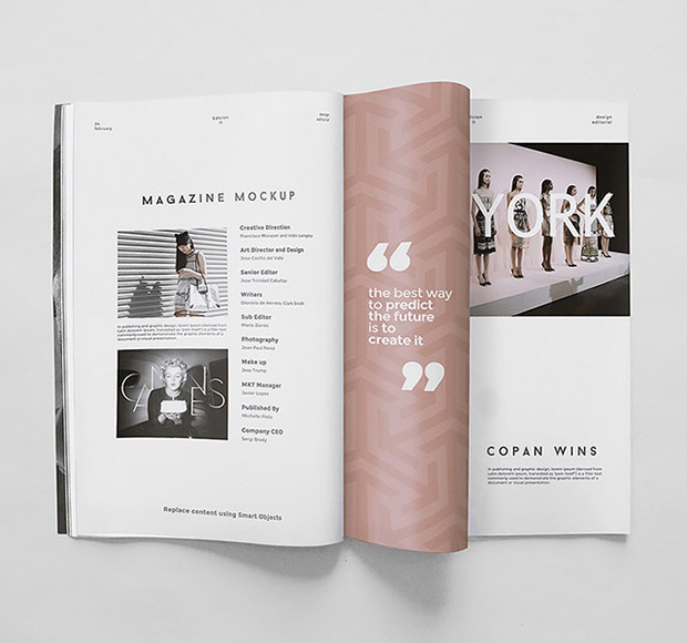 <span>Case Study</span>Magazine Mockup <i>for</i> Copan